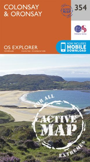 OS Explorer Active - 354 - Colonsay & Oronsay