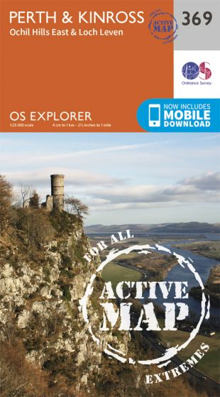 OS Explorer Active - 369 - Perth & Kinross