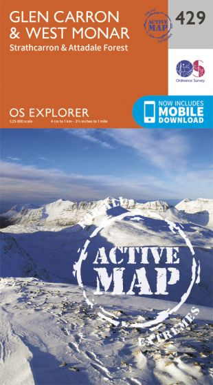OS Explorer Active - 429 - Glen Carron & West Monar