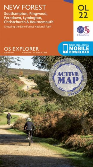 OS Explorer Active - 229 - Thetford Forest in The Brecks