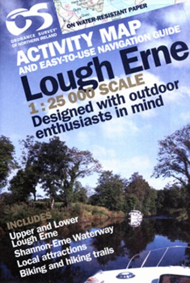 OS Northern Ireland Activity Map - Lough Erne