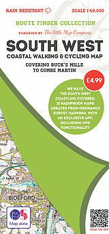 The Little Map Company - Route Finder - Buck's Mills To Combe Martin