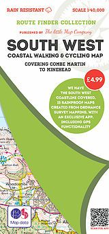 The Little Map Company - Route Finder - Combe Martin To Minehead