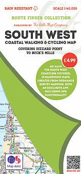 The Little Map Company - Route Finder - Dizzard Point To Buck's Mills