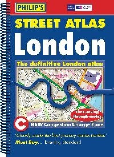Philips Spiral Street Atlas - London Mini