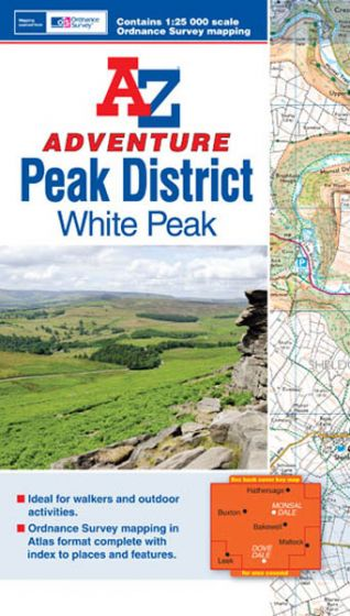 A-Z Adventure Atlas - Peak District (White Peak)