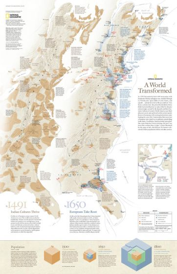A World Transformed - Published 2007 Map