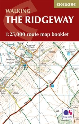 Cicerone - National Trail Map Booklet - The Ridgeway (MB)