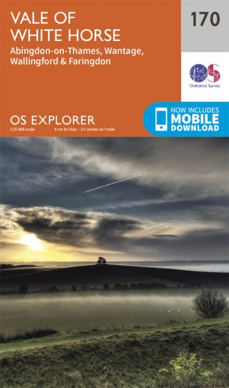 OS Explorer - 170 - Abingdon, Wantage & Vale of White Horse