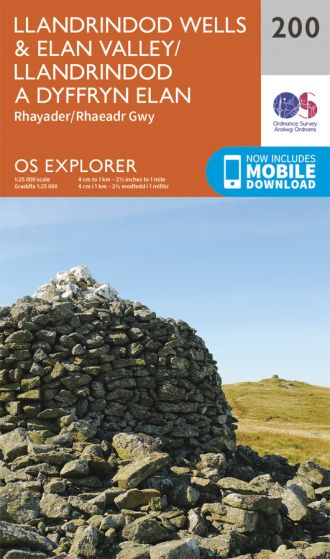 OS Explorer - 200 - Llandrindod Wells & Elan Valley