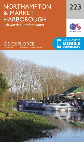 OS Explorer - 223 - Northampton & Market Harborough