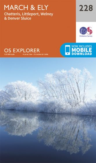 OS Explorer - 228 - March & Ely