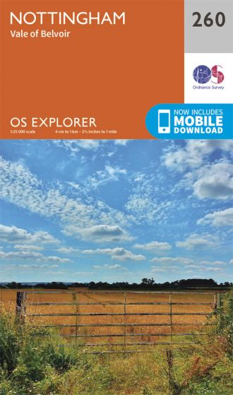 OS Explorer - 260 - Nottingham