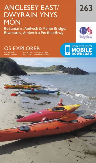 OS Explorer - 263 - Anglesey East