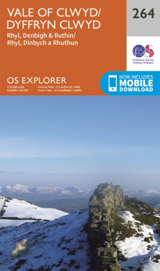 OS Explorer - 264 - Vale of Clwyd