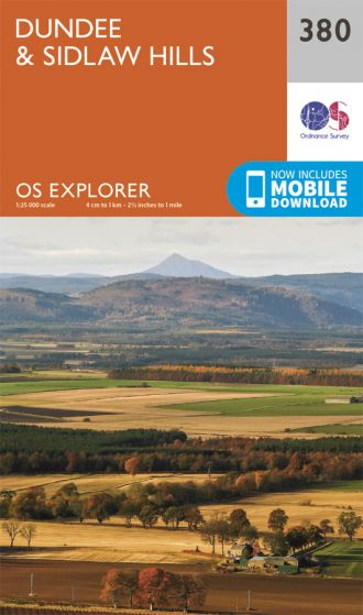 OS Explorer - 380 - Dundee & Sidlaw Hills