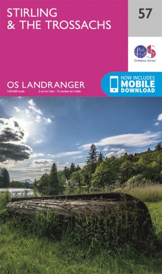 OS Landranger - 57 - Stirling & The Trossachs