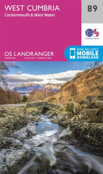 OS Landranger - 89 - West Cumbria, Cockermouth & Wast Water