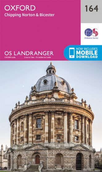 OS Landranger - 164 - Oxford, Chipping Norton & Bicester