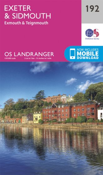 OS Landranger - 192 - Exeter & Sidmouth, Exmouth & Teignmouth
