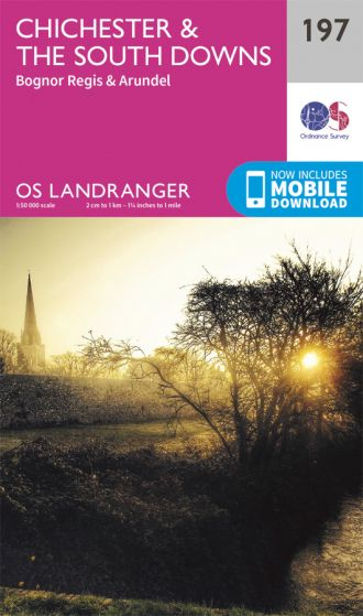 OS Landranger - 197 - Chichester & The South Downs