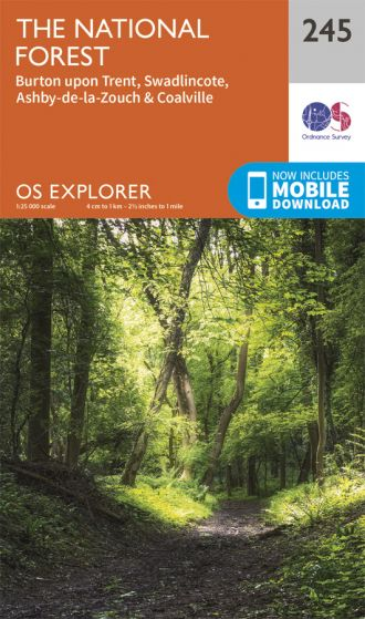 OS Explorer - 245 - The National Forest