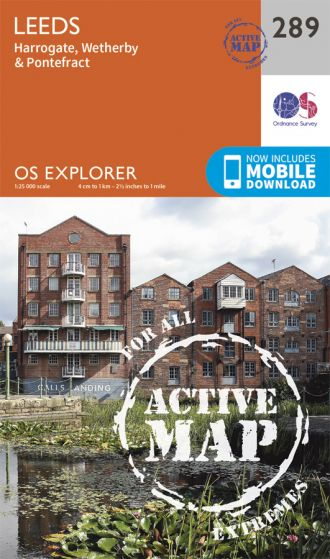 OS Explorer Active - 289 - Leeds