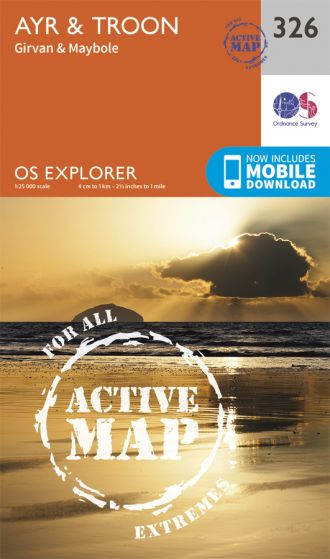 OS Explorer Active - 326 - Ayr & Troon