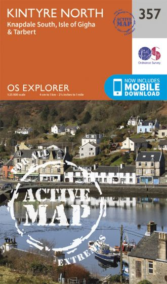 OS Explorer Active - 357 - Kintyre North