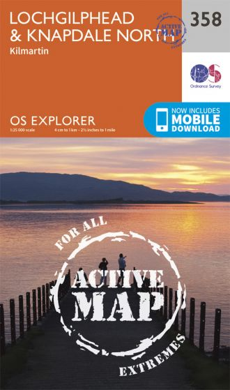OS Explorer Active - 358 - Lochgilphead & Knapdale North