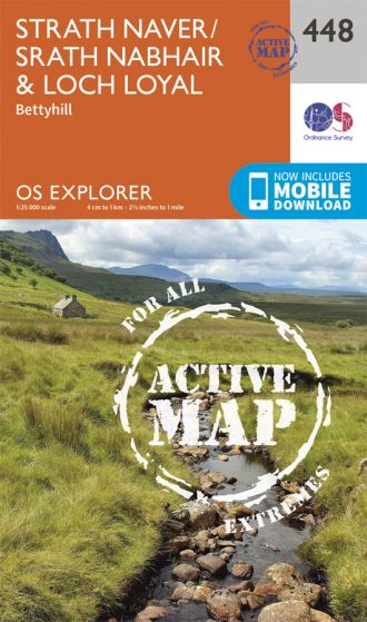 OS Explorer Active - 448 - Strath Naver & Loch Loyal