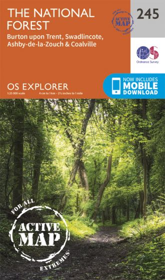 OS Explorer Active - 245 - The National Forest