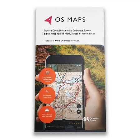 OS Maps Digital Subscription Pack