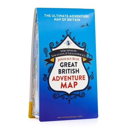 ST&G's Joyously Busy Great British Adventure Map