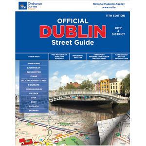 OS Official Dublin City And District Street Guide
