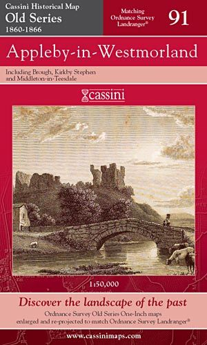 Cassini Old Series - Appleby-in-Westmorland (1860-1866)