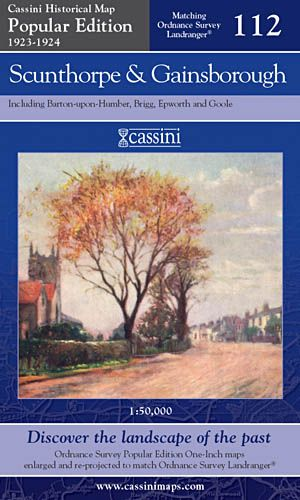 Cassini Popular Edition - Scunthorpe & Gainsborough (1923-1924)