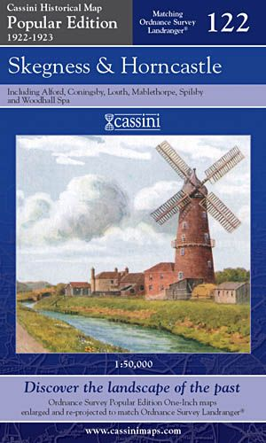 Cassini Popular Edition - Skegness & Horncastle (1922-1923)