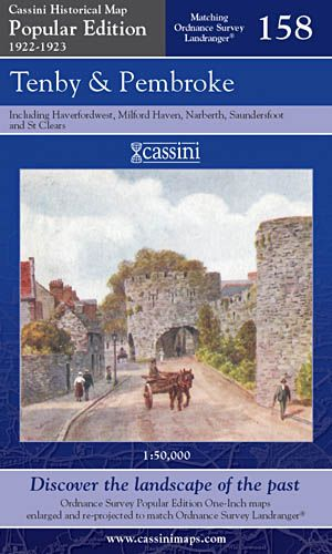 Cassini Popular Edition - Tenby & Pembroke (1922-1923)