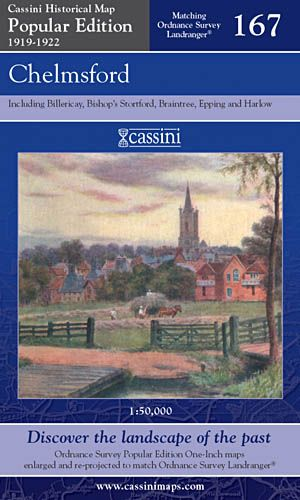 Cassini Popular Edition - Chelmsford (1919-1922)