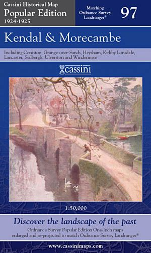Cassini Popular Edition - Kendal & Morecambe (1924-1925)