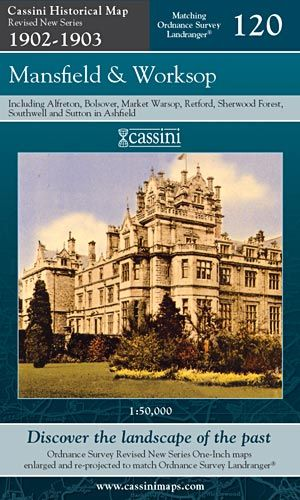Cassini Revised New - Mansfield & Worksop (1902-1903)