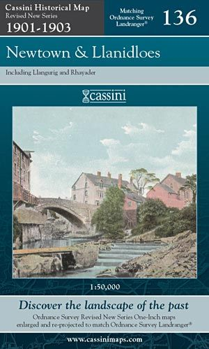 Cassini Revised New - Newtown & Llanidloes (1901-1903)