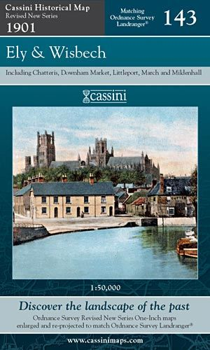 Cassini Revised New - Ely & Wisbech (1901)