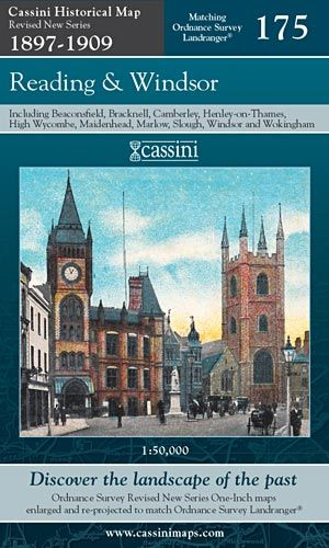 Cassini Revised New - Reading & Windsor (1897-1909)