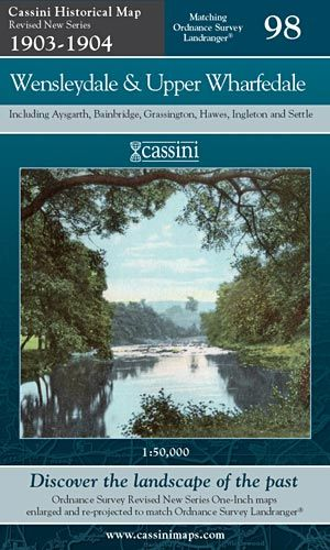 Cassini Revised New - Wensleydale & Upper Wharfedale (1903-1904)