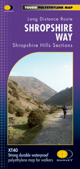 Harvey National Trail Map - Shropshire Way