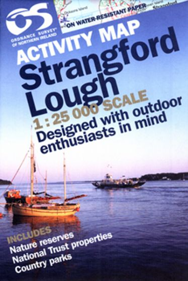 OS Northern Ireland Activity Map - Strangford