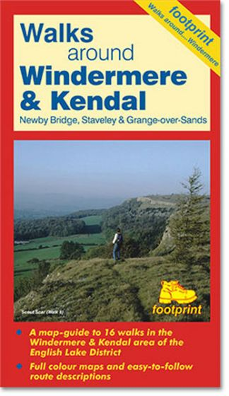 Footprint Maps - The English Lakes: Walks Around Windermere & Kendal
