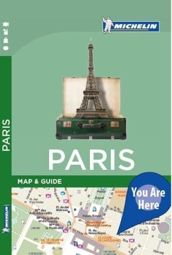 Michelin City Map And Guide - Paris